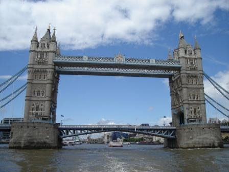 major sites of London from the river and even went under Tower Bridge.